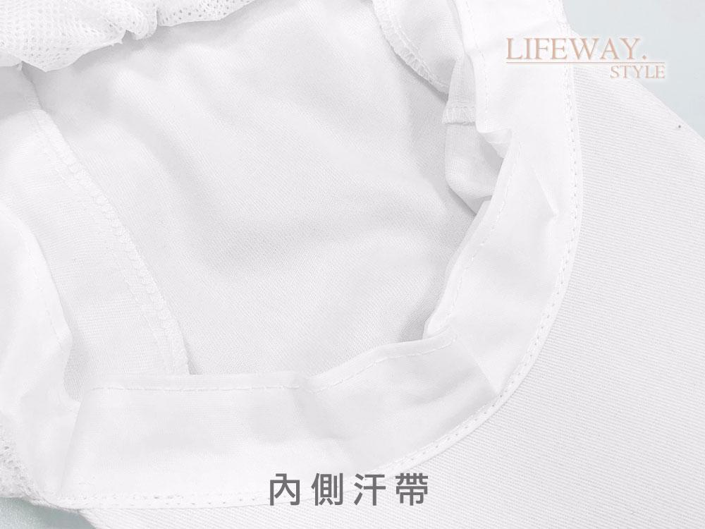 白色衛生帽,廚師帽,食品衛生帽,衛生網帽,食品加工帽,食品帽,打菜帽,後網帽,髮網,防塵帽,食安帽,台灣創意家服飾,創意家團體服