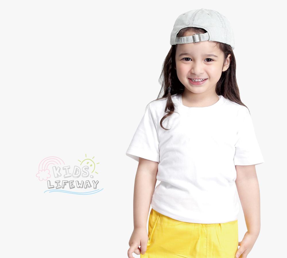 lifway機能服飾,平價,機能,lifeway男女童純棉T恤系列