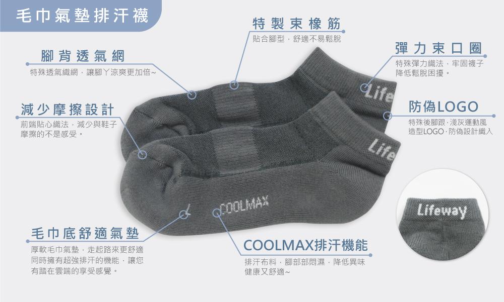 機能排汗襪,吸濕排汗襪,毛巾襪,氣墊襪,排汗襪,襪子,多彩襪,舒適排汗襪,棉襪,透氣襪,女襪,男襪,運動排汗襪