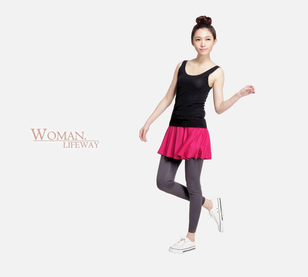 褲裙,lifeway抗UV內搭褲,內搭褲,休閒內搭褲,透氣內搭褲,彈性內搭褲